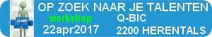 Workshop OP ZOEK NAAR JE TALENTEN - 22apr2017 - Herentals